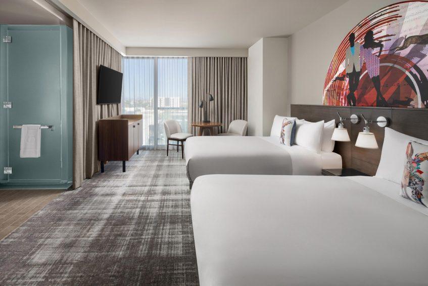 W Scottsdale Luxury Hotel - Scottsdale, AZ, USA - Wonderful and Spectacular Double Guest Room