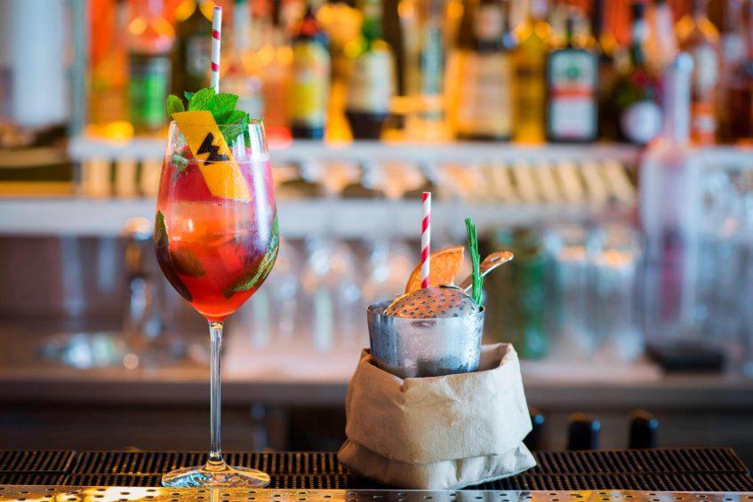 W Verbier Luxury Hotel - Verbier, Switzerland - W Living Room Drinks