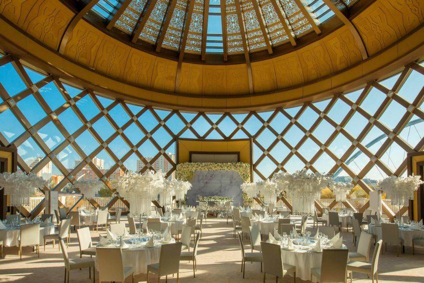 The St. Regis Astana Luxury Hotel - Astana, Kazakhstan - Winter Garden