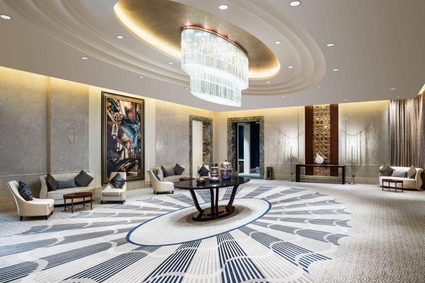The St. Regis Chengdu Luxury Hotel - Chengdu, Sichuan, China - Astor Ballroom Foyer