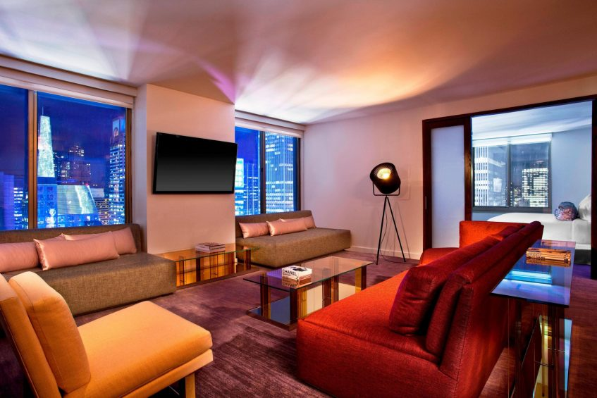 W New York Times Square Luxury Hotel - New York, NY, USA - Wow Suite