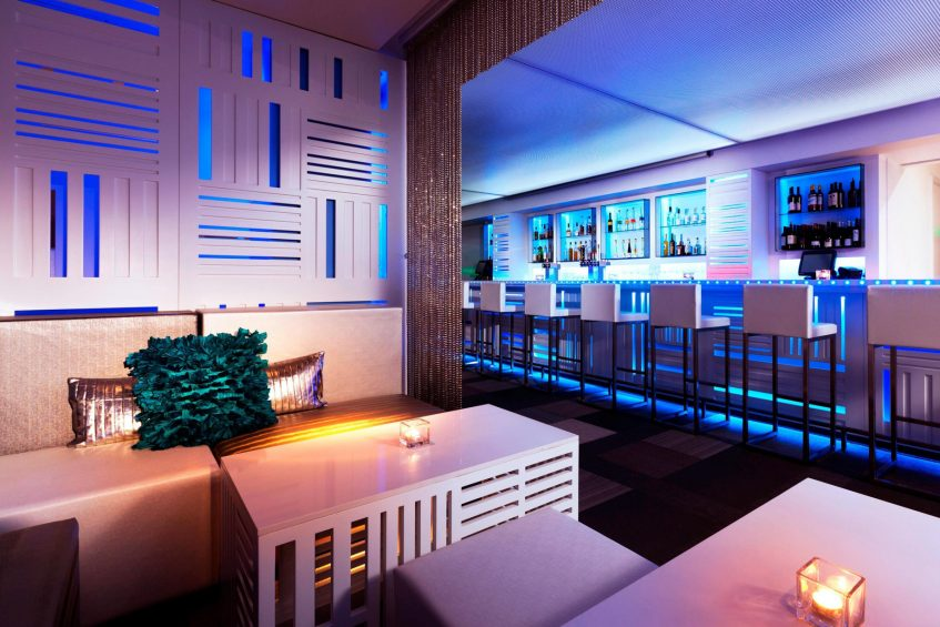 W San Francisco Luxury Hotel - San Francisco, CA, USA - Upstairs Bar and Lounge