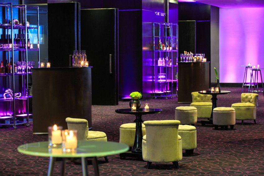 W Santiago Luxury Hotel - Santiago, Chile - Great Room Pre Function Cocktail Set Up
