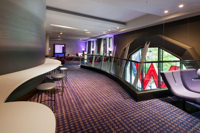 W Seattle Luxury Hotel - Seattle, WA, USA - Second Floor Pre Function North Foyer