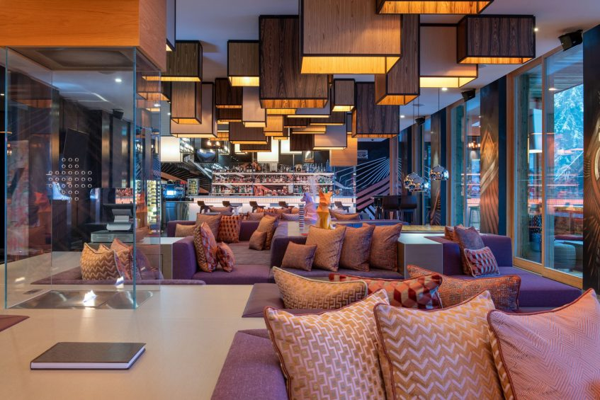 W Verbier Luxury Hotel - Verbier, Switzerland - W Living Room Decor