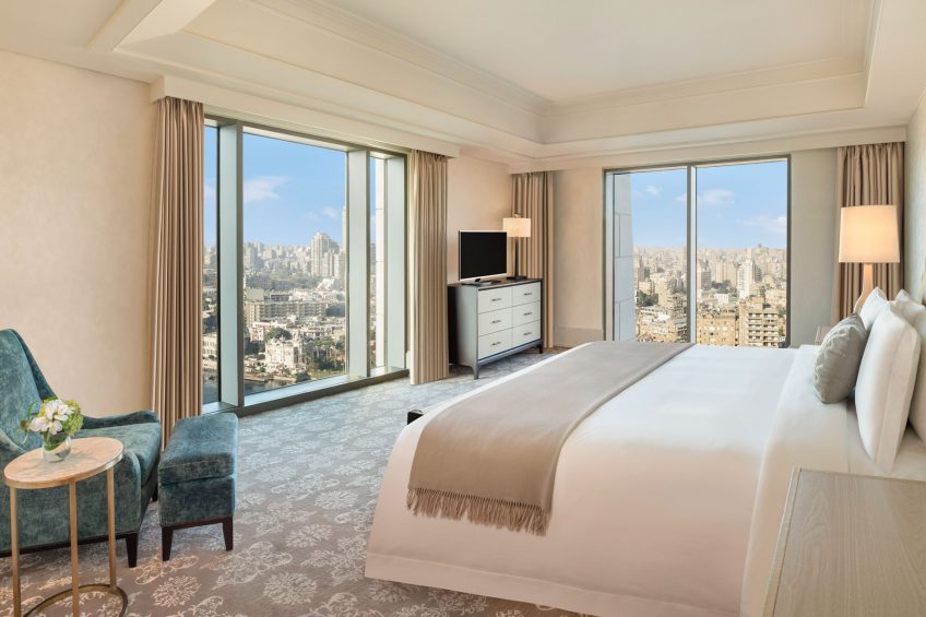 The St. Regis Cairo Luxury Hotel - Cairo, Egypt - Apartment King Bed