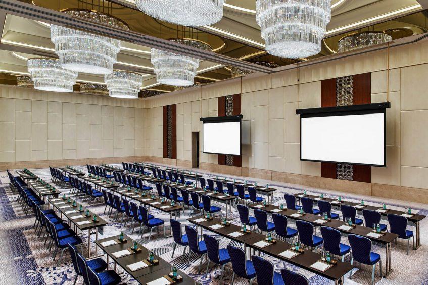 The St. Regis Chengdu Luxury Hotel - Chengdu, Sichuan, China - Astor Ballroom Classroom Meeting