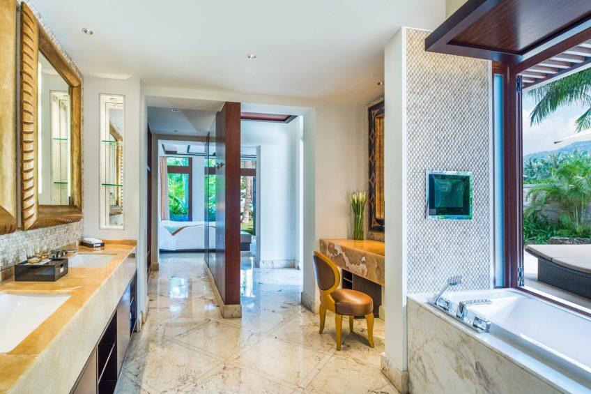 The St. Regis Sanya Yalong Bay Luxury Resort - Hainan, China - Seaside One Bedroom Villa Bathroom