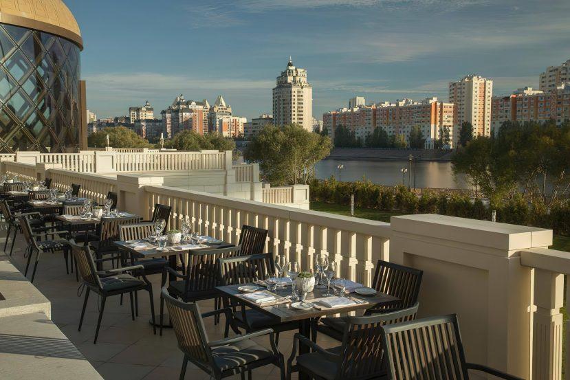 The St. Regis Astana Luxury Hotel - Astana, Kazakhstan - Exterior Terrace