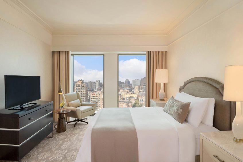 The St. Regis Cairo Luxury Hotel - Cairo, Egypt - Apartment King Bedroom