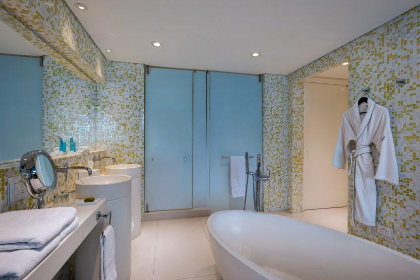 W Bogota Luxury Hotel - Bogota, Colombia - Fantastic Suite Bathroom