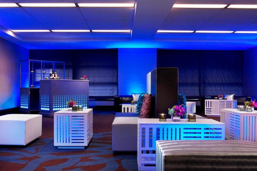 W San Francisco Luxury Hotel - San Francisco, CA, USA - Industry Room