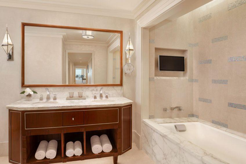 The St. Regis Cairo Luxury Hotel - Cairo, Egypt - Apartment Bathroom Tub