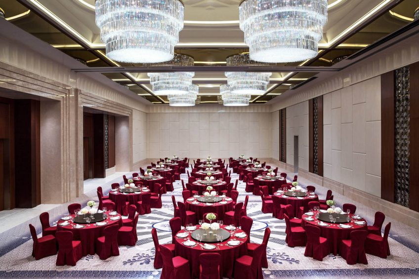 The St. Regis Chengdu Luxury Hotel - Chengdu, Sichuan, China - Astor Ballroom Wedding Reception