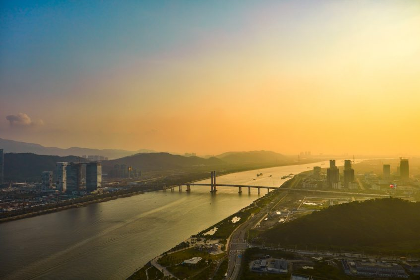 The St. Regis Zhuhai Luxury Hotel - Zhuhai, Guangdong, China - Presidential Suite Sunset River View