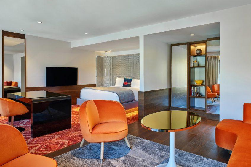 W Aspen Luxury Hotel - Aspen, CO, USA - Wow Suite Living Room