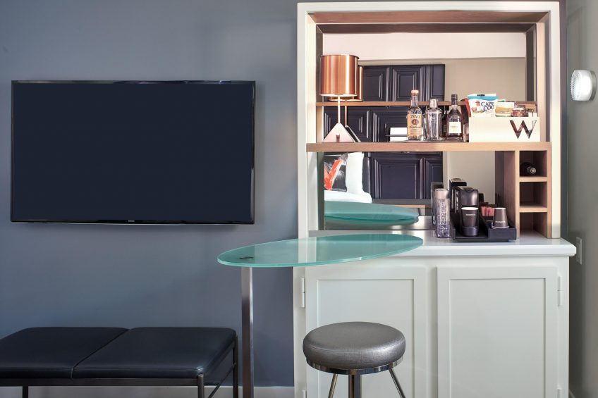 W Boston Luxury Hotel - Boston, MA, USA - Fabulous Guest Room TV
