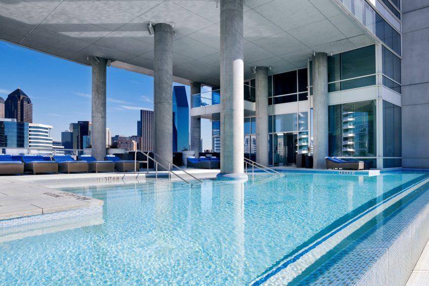 W Dallas Victory Luxury Hotel - Dallas, TX, USA - WET Deck