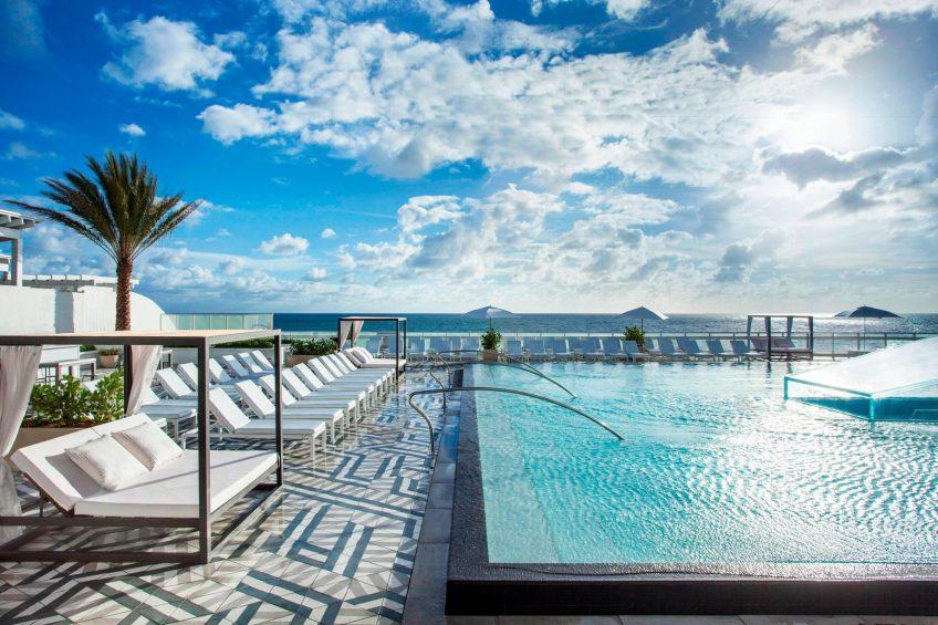 W Fort Lauderdale Luxury Hotel - Fort Lauderdale, FL, USA - WET Pool