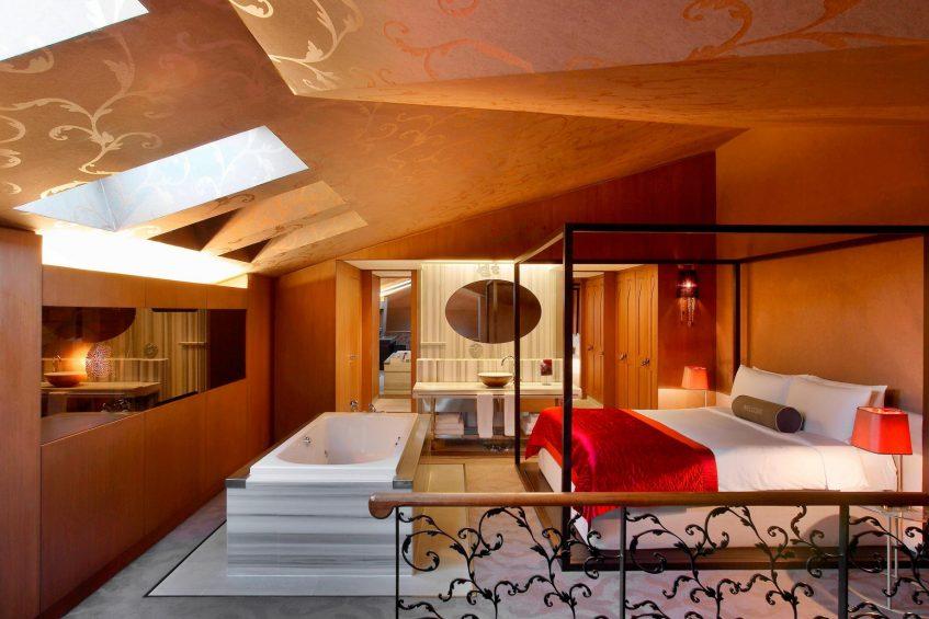 W Istanbul Luxury Hotel - Istanbul, Turkey - Wow Suite Bedroom
