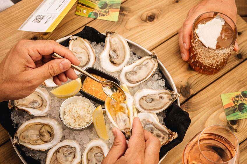 W Montreal Luxury Hotel - Montreal, Quebec, Canada - Oysters