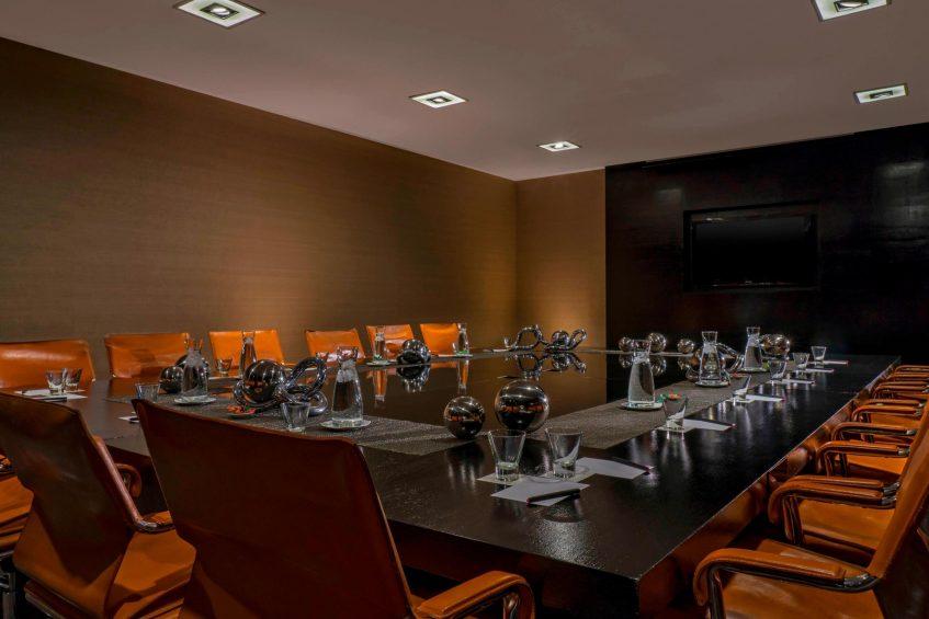 W Santiago Luxury Hotel - Santiago, Chile - Strategy Room