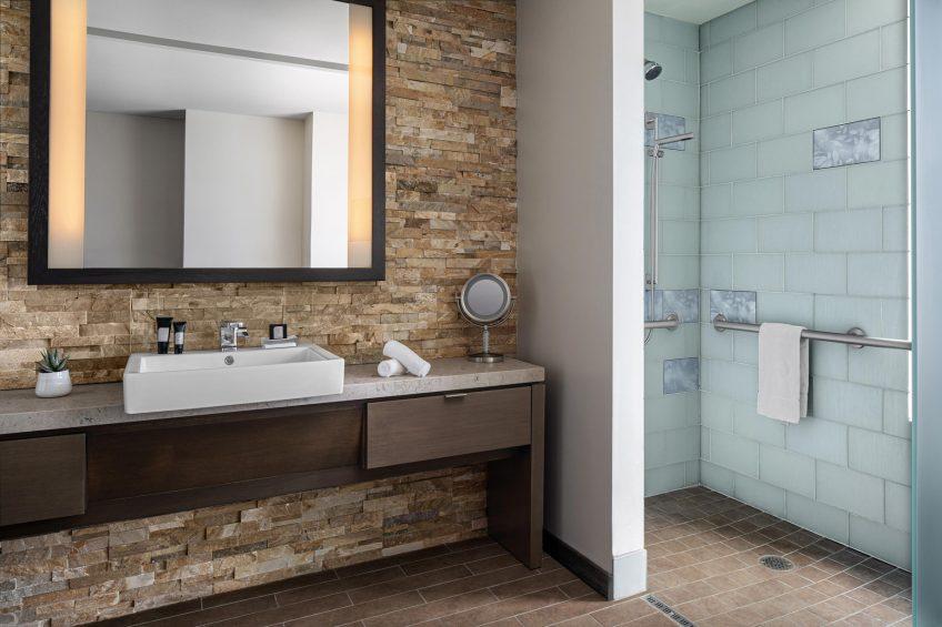 W Scottsdale Luxury Hotel - Scottsdale, AZ, USA - Wonderful Double Accessible Guest Bathroom