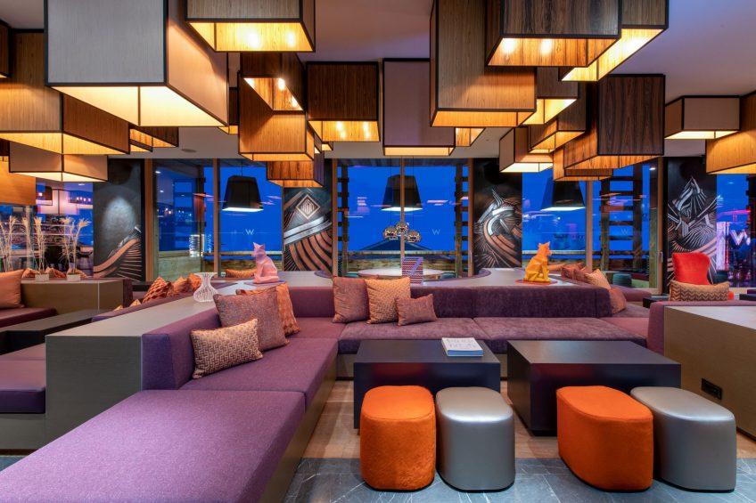 W Verbier Luxury Hotel - Verbier, Switzerland - W Living Room Seating