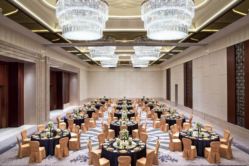 The St. Regis Chengdu Luxury Hotel - Chengdu, Sichuan, China - Astor Ballroom Banquet