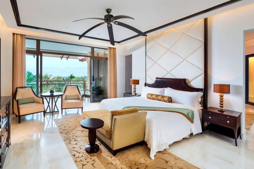 The St. Regis Sanya Yalong Bay Luxury Resort - Hainan, China - St Regis Suite King Bedroom