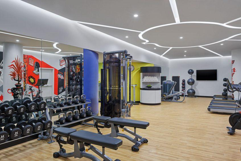 W Aspen Luxury Hotel - Aspen, CO, USA - Fitness Center Equipment
