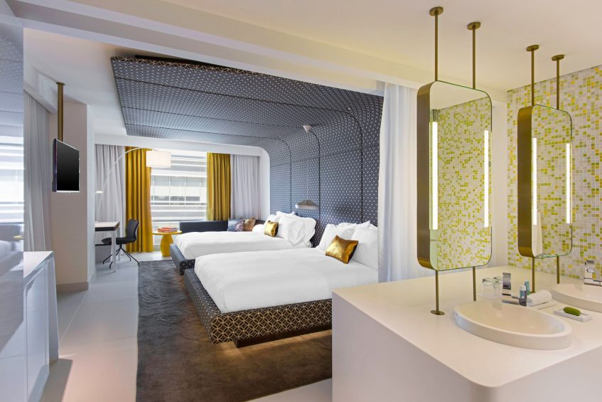 W Bogota Luxury Hotel - Bogota, Colombia - Guest Room Queen