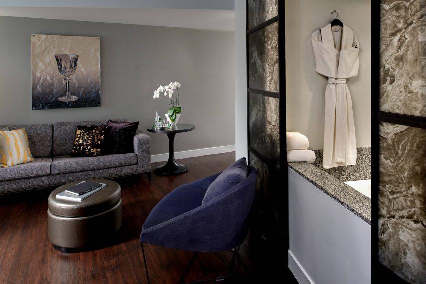 W Boston Luxury Hotel - Boston, MA, USA - Marvelous Suite Interior