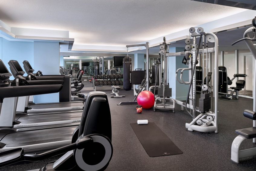 W Fort Lauderdale Luxury Hotel - Fort Lauderdale, FL, USA - FIT Gym