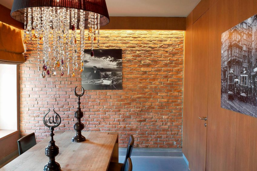 W Istanbul Luxury Hotel - Istanbul, Turkey - Wow Suite Dining Room Decor