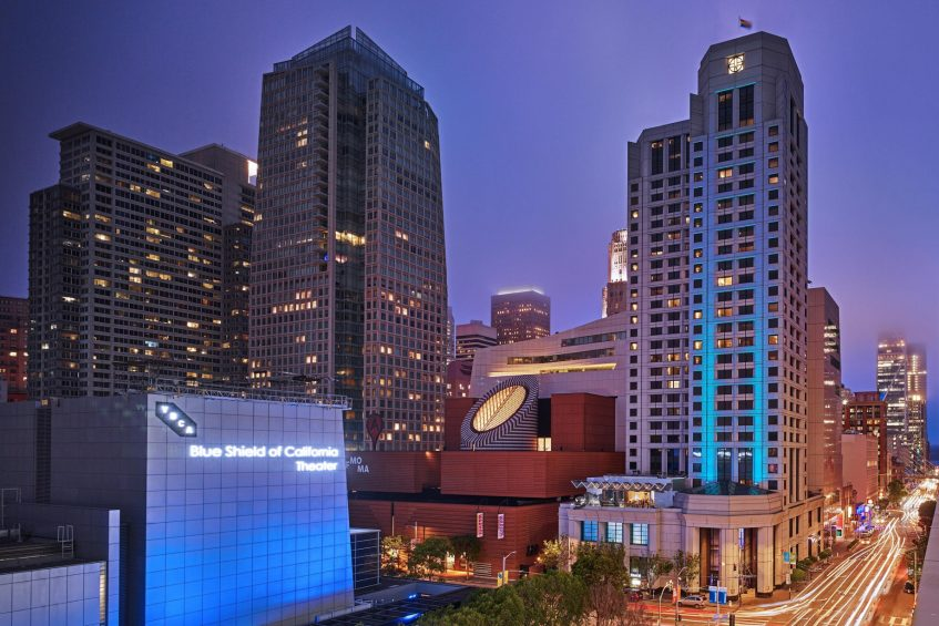 W San Francisco Luxury Hotel - San Francisco, CA, USA - Hotel Exterior