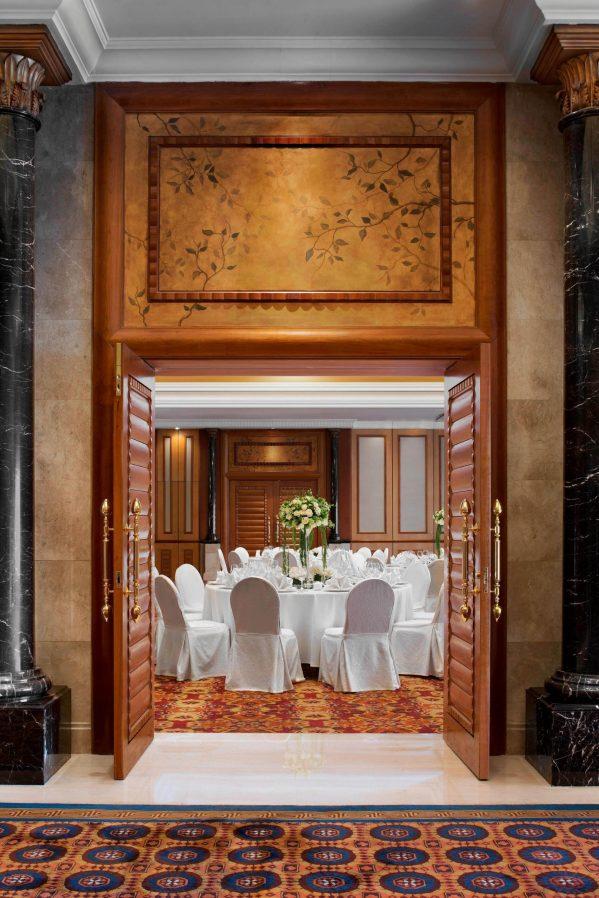 The St. Regis Beijing Luxury Hotel - Beijing, China - Ballroom Banquet Entrance