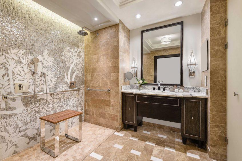 The St. Regis Cairo Luxury Hotel - Cairo, Egypt - Deluxe Bathroom Vanity