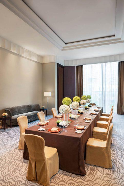 The St. Regis Chengdu Luxury Hotel - Chengdu, Sichuan, China - Vanderbilt Meeting Room Banquet