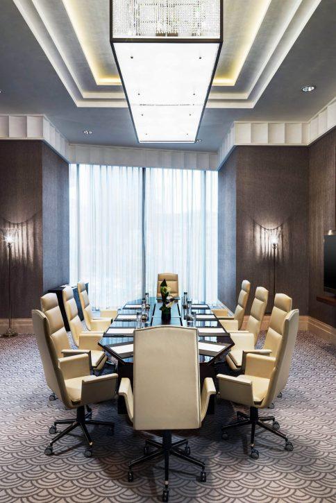 The St. Regis Chengdu Luxury Hotel - Chengdu, Sichuan, China - Vanderbilt Meeting Room