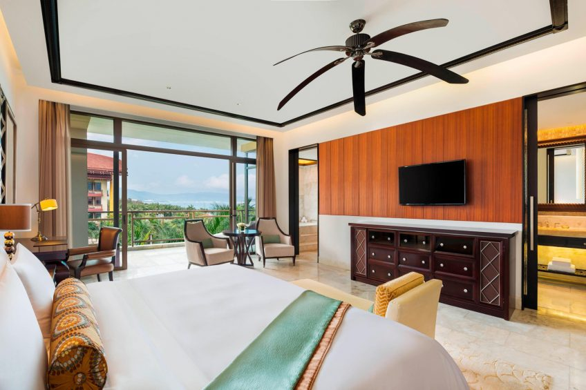 The St. Regis Sanya Yalong Bay Luxury Resort - Hainan, China - St. Regis Guest Room