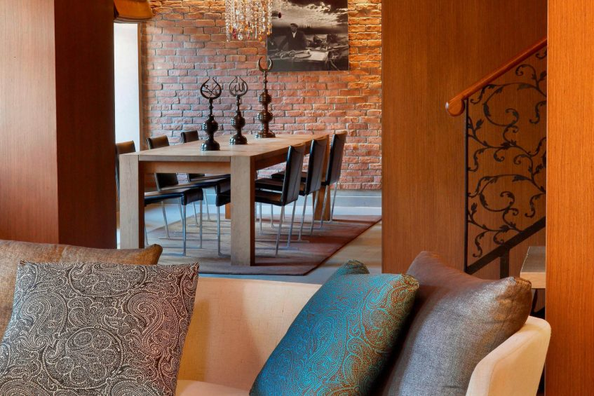 W Istanbul Luxury Hotel - Istanbul, Turkey - Wow Suite Dining Room