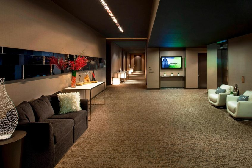 W New York Times Square Luxury Hotel - New York, NY, USA - Pre Function Reception