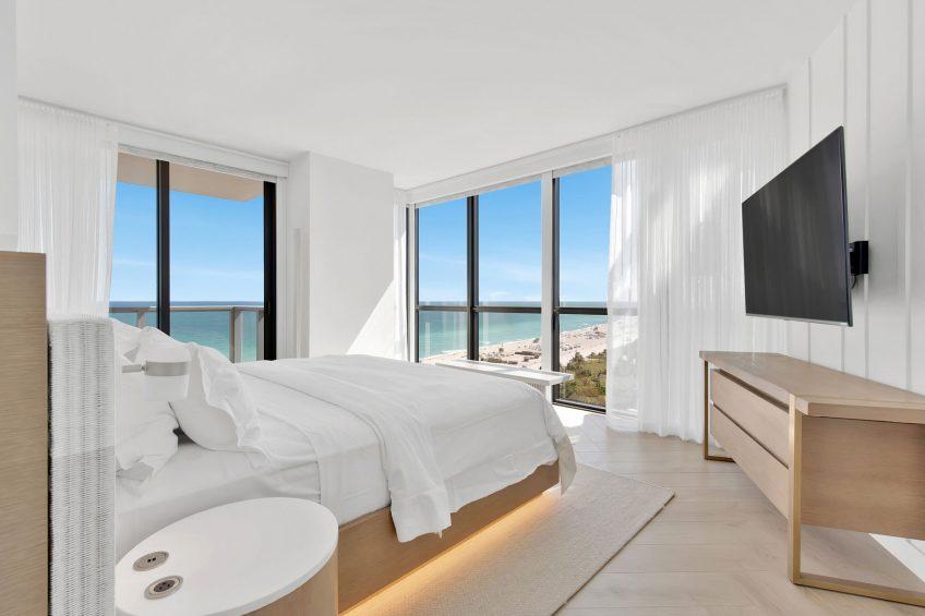 W South Beach Luxury Hotel - Miami Beach, FL, USA - Cool Corner Suite King