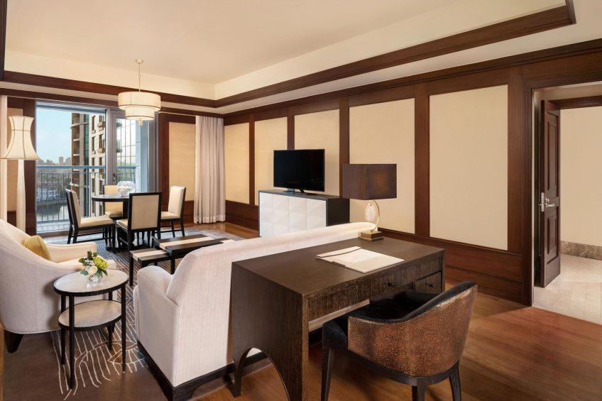 The St. Regis Cairo Luxury Hotel - Cairo, Egypt - Astor Suite Living Room
