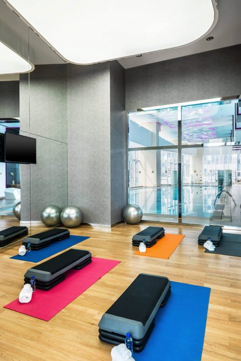 The St. Regis Chengdu Luxury Hotel - Chengdu, Sichuan, China - St. Regis Athletic Club Exercise Room