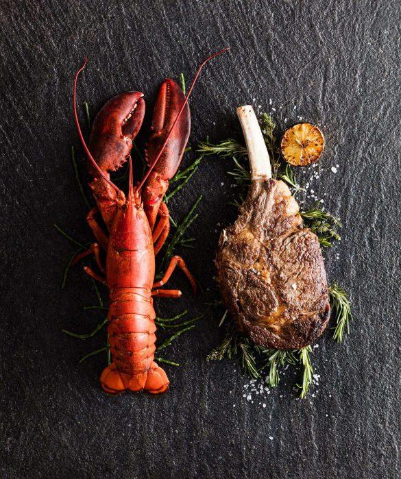 The St. Regis Macao Luxury Hotel - Cotai, Macau SAR, China - Lobster and Beef