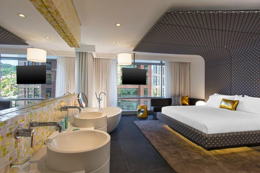 W Bogota Luxury Hotel - Bogota, Colombia - Marvelous King Suite