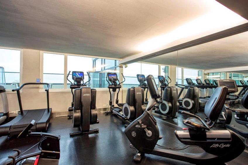 W Chicago Lakeshore Luxury Hotel - Chicago, IL, USA - Fitness Center