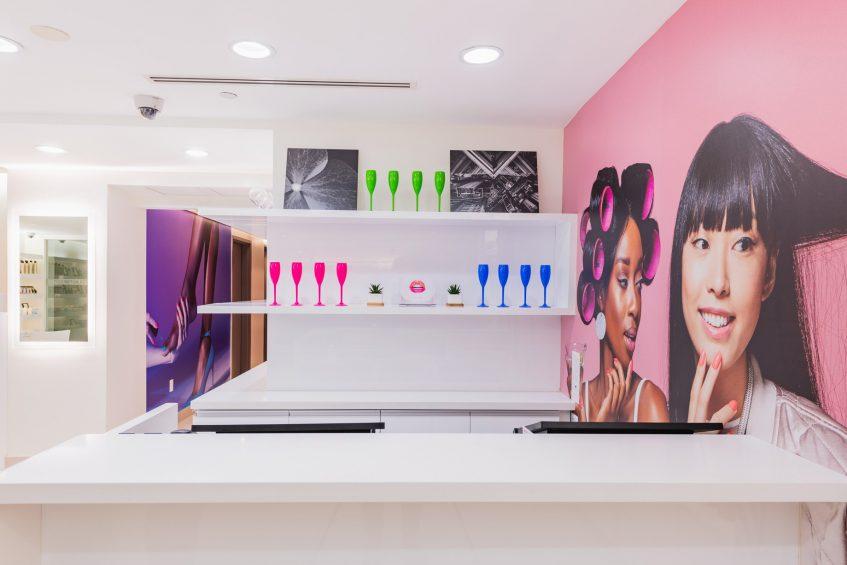 W Fort Lauderdale Luxury Hotel - Fort Lauderdale, FL, USA - AWAY Spa Front Desk